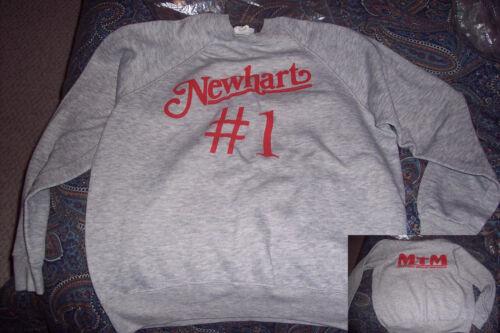 Newhart Extremely Rare Original cast/crew promotional shirt