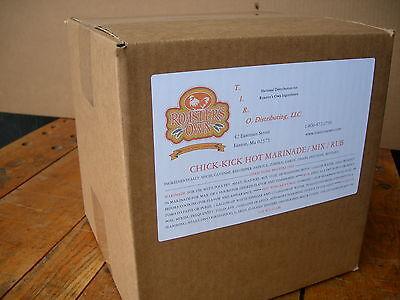 10lb.hot Chipotle Marinade Bbq Rib Rub Mix Chicken Use Wbroasterpressure Fryer