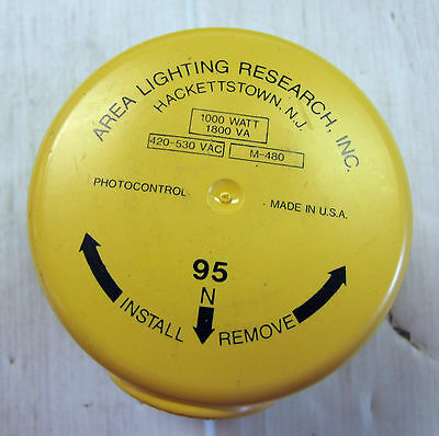 New Area Lighting Research Inc. Outdoor Lighting Photo Control M-480 M480 480v