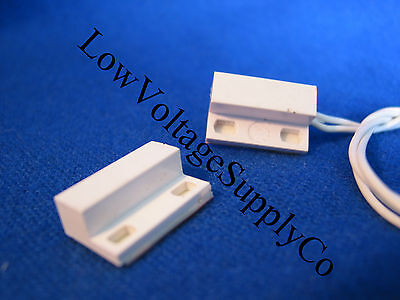 - 10 Home Alarm Contact Reed Switch Security mini stick Fits DSC Ademco Bosch GRI