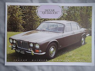 1969 Jaguar XJ6 Saloon Specification Sheet