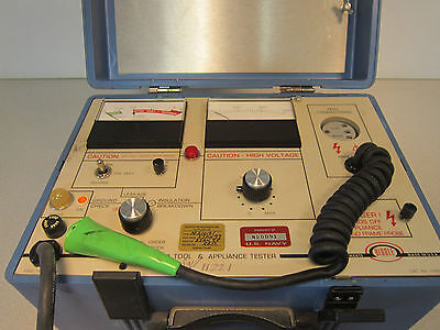 Biddle Catalog 235000 Electrical Tool Appliance Test Set
