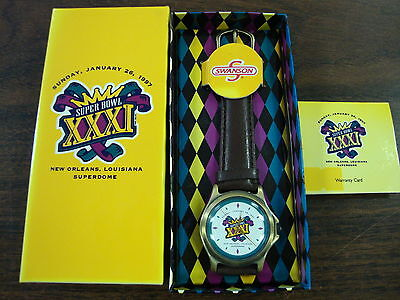 Super Bowl Xxxi Watch From Swanson Foods