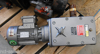 Nord Unicase Helical Worm Gearbox 33100-80 Lh4 Cus