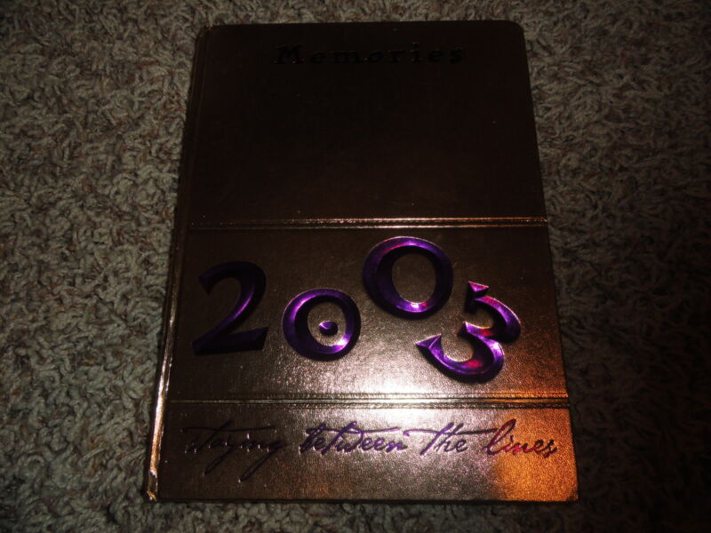 2003 Purvis High School Yearbook from Mississippi
