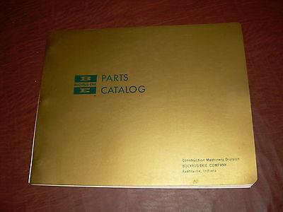 Bucyrus-erie Shovel Crane Hoe Parts Catalog Manual 38 38b Bucyrus Erie