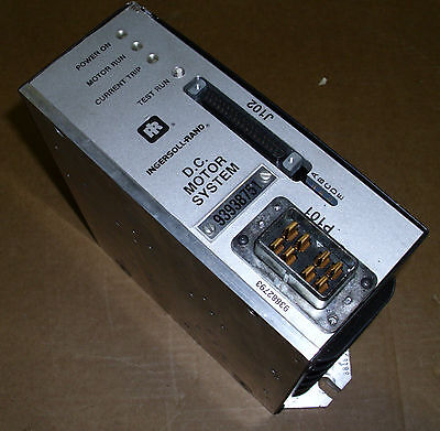 Ingersoll Rand Dc Motor System Servo Drive 93972751 Warranty