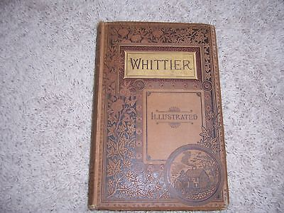 The Poetical Works Of John Greenleaf Whittier Hc Literature Poetry