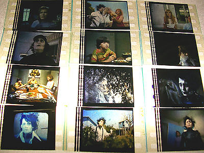EDWARD SCISSORHANDS Film Cell Lot of 12 - collectible compliments dvd poster