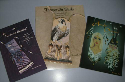 All 3 Books Beading brick bead book beadwork books beaded By Barbara Elbe