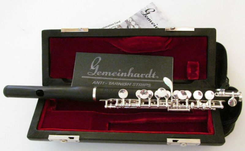 "NEW ""Storm"" Piccolo Roy Seaman Gemeinhardt wood-sound composite body WAVE head"