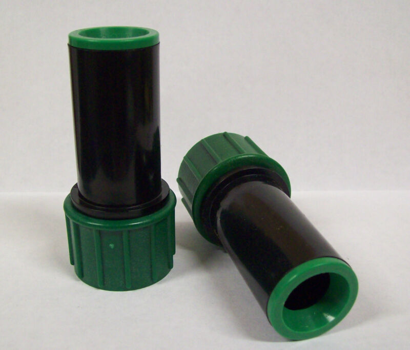 """X10 Dig Drip Irrigation Push In 1/2"""" .620 OD Tubing Hose To 3/4"""" Pipe Fittings"""