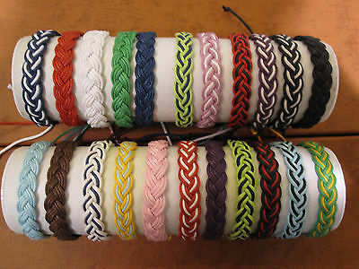 2X hemp braided bracelet, wristband, friendship bracelet. 2 for $6.99, 3 for $10