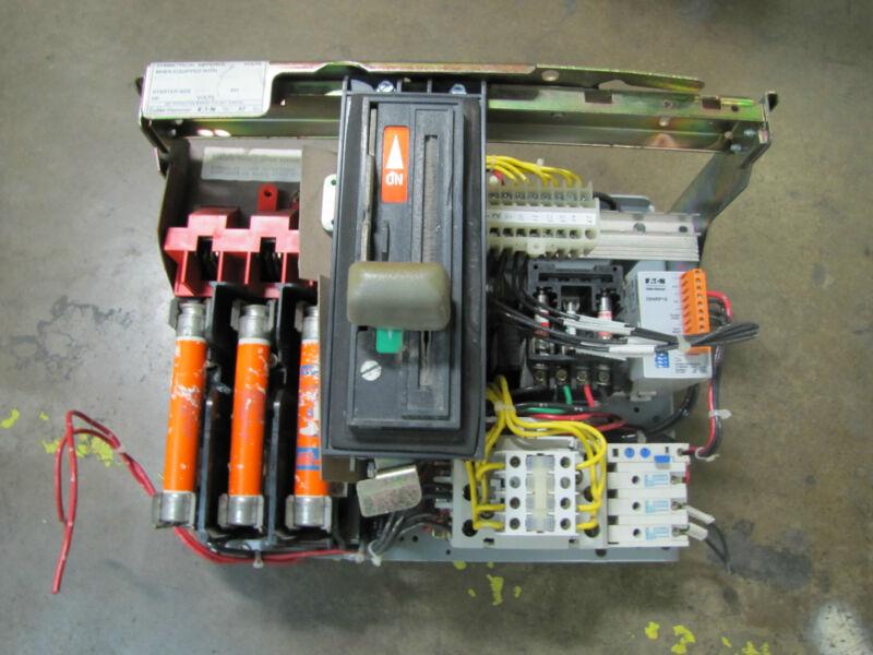 CUTLER HAMMER EATON MCC BUCKET 6AF1542786 60A 60 AMP A SIZE SZ 1 5HP AN16DN0