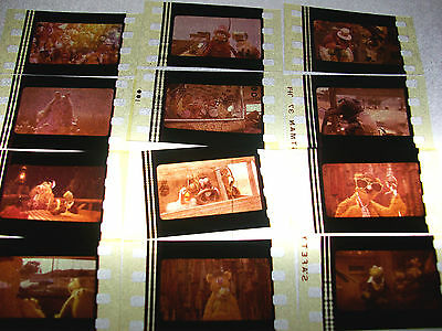 MUPPETS Film Cell Lot of 12 - collectible compliments dvd poster kermit piggy