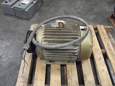 Baldor 15 Hp Super Efficient Industrial Motor