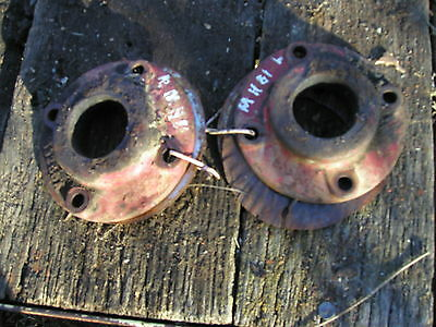 Massey Harris 81 Tractor Pair Of Mh Right Left Rear Axle Seal Seals