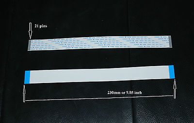 Data Cable 21pin 9 Inch 23cm For Mimaki - Roland - Mutoh Printers. Us Seller.
