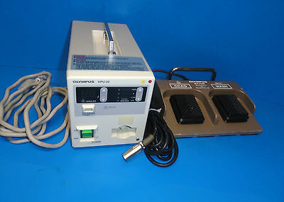 Olympus Hpu-20 Heat Probe Unit W Maj-528 Foot Switch For Haemostasis  5226