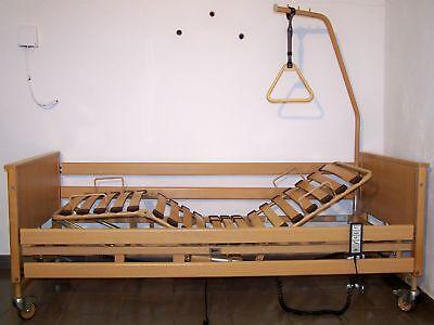Voll elektrisches Krankenbett Pflegebett Burmeier  90 x 200 cm + neue Matratze