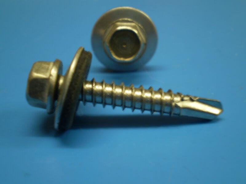 5 Sechskant Schrauben DIN 933 Muttern DIN 985 galZN 8,8*  M7 x 50 mm 5 S