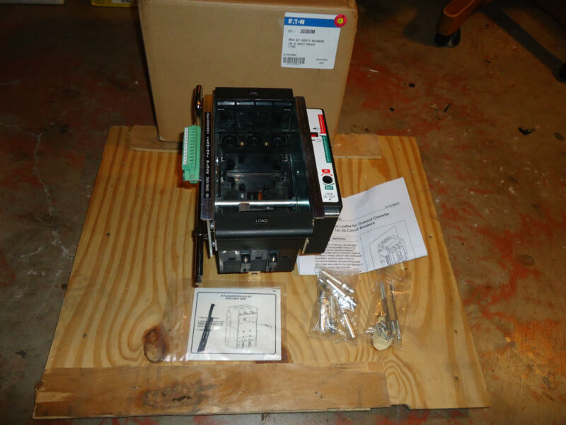 EATON DRAW-OUT CASSETTE FOR JG CIRCUIT BREAKERS 3 POLE CAT #JG3DOM NEW