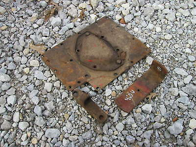 Farmall 460 Utility Tractor Transmission Cover Plates