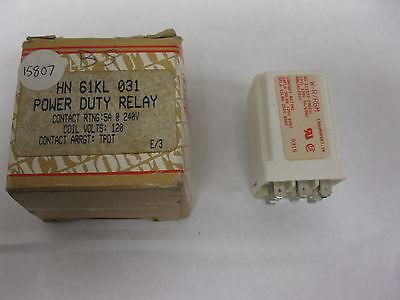 Carrier Hn61kl031 5a 120v Tpdt Power Duty Relay W-rrbm