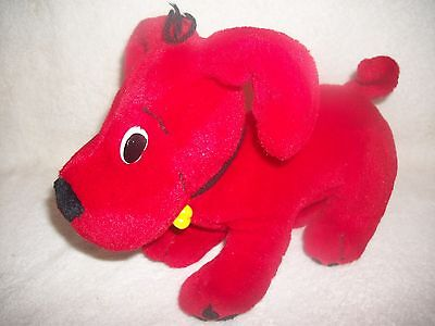 Clifford The Big red Dog Poseable Plush Doll
