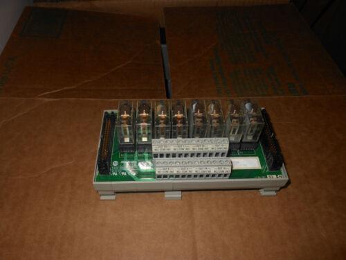 Allen Bradley 1492-xim24-8r Ser A 8 Relay Terminal Block