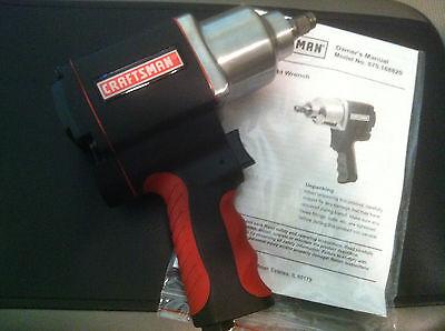 Brand New Craftsman 1/2 inch Drive Tire Socket Air Impact Wrench Gun 875