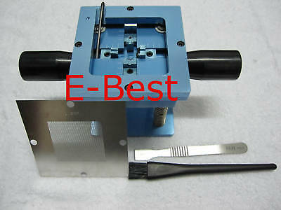 0.6mm Bga Reballing Repair Stencil Welder Station Kits