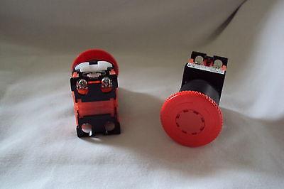 Fuji Emergency Stop Push Button Switch Ar22v2r-02r