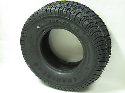 *2* 205/65-10 LRE 10 PR Kenda Loadstar Bias Trailer Tires (Loadstar Tires)