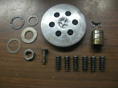 71 <em>YAMAHA</em> RT1 360 ENDURO PRESSURE PLATE AND OTHER CLUTCH PARTS