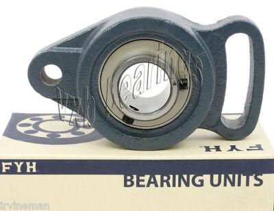 Adjustable Flange Bearings - FYH Bearings 15mm  Adjustable oval 2 bolt Flanged