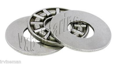 Thrust Needle Roller Bearing 78x 1 1116x 964inch Flat Thin 3piece Bearings