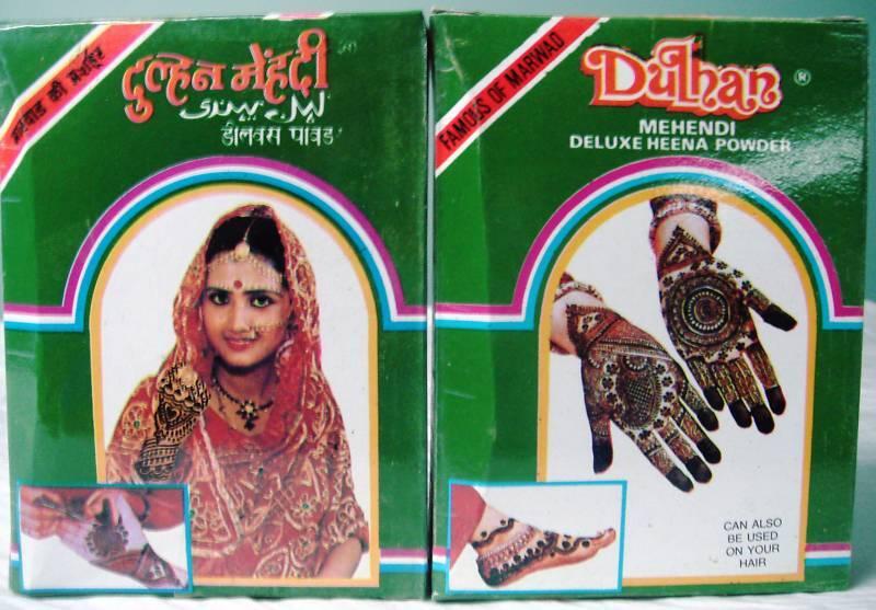 Dulhan Deluxe Henna Mehndi Mehandi Tattoo 100grams Powder