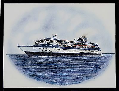 Original Art Work    Ms Horizon    Celebrity Cruises    Cruise Ship