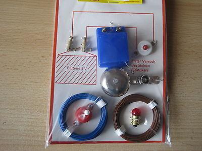 Bau einer Klingel und Lampe auch f. Puppenstuben geeignet *NEU*
