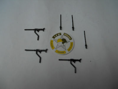 Vehículo Militar Solido Verem Accesorios 1/50 Dpmaxim MG 42 + Antena