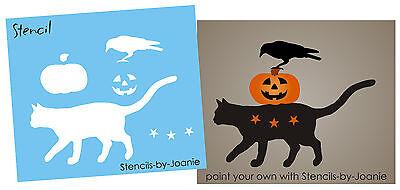 Country Halloween Stencils (Joanie Stencil 4.5