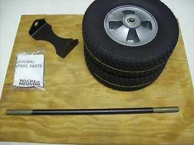 Wacker Jumping Jack Rammer Tamper Wheel Kit - Fits Bs50-2 50-2i Bs60-2i Bs70