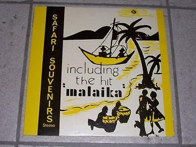 "African Music - Safari Souvenirs /  "" Malaika "" / LP !"