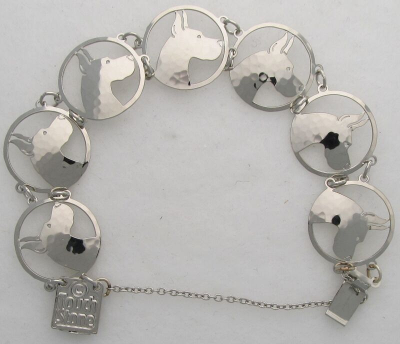 "Great Dane Jewelry ""Silver""  Bracelet by Touchstone"
