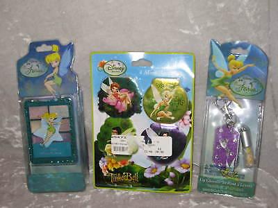 Disney Fairies Lip Gloss Stamp Pad Memo Pad Tinker Bell