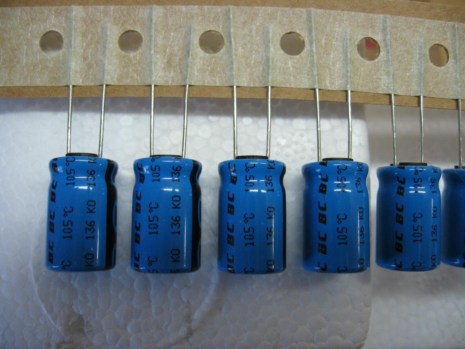 Condo Condensador 100V 47µF 47MF 47uF 105°C Philips (Lote De 10)