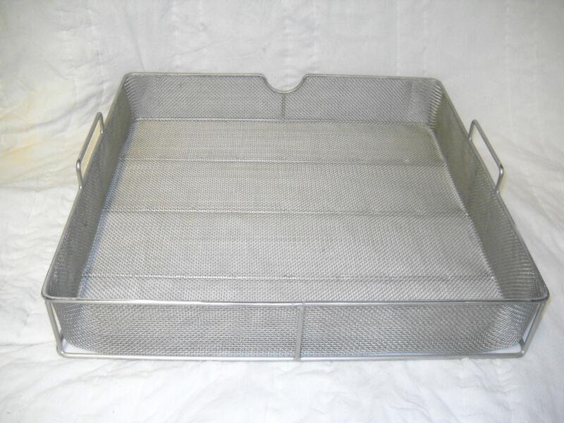 "Basket, Parts washing, 18"" x 18"" x 2.5"" fine mesh, 5003011"