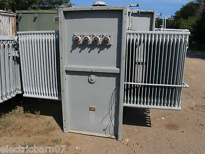 Ge 1500 Kva 13800 X 480277 V Substation Transformer T208