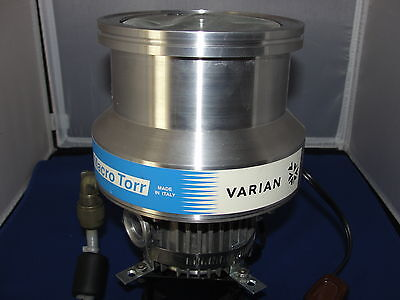 Varian Turbo-v 250 Macro Torr Pump Model 9699007 Tv 250 Pump 933 Hz 54v 150va